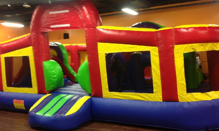 Leaping Lizards Indoor Inflatable Fun Center - Venice: All-Day Jumping Admission for Two, Four, or Six at Leaping Lizards Indoor Inflatable Fun Center (29% Off)