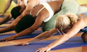 The Studio: 10 Yoga Classes or One Month of Unlimited Classes at The Studio (Up to 64% Off)