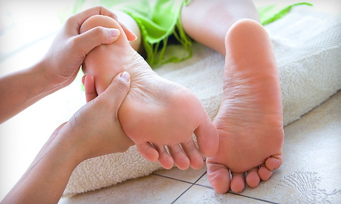 The Body Cafe Raleigh - Durham: $35 for a Reflexology Package with Head and Shoulder Massage and Aromatherapy at The Body Cafe in Durham ($85 Value)