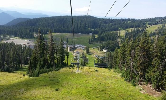 Mt. Hood Meadows Resort - Mt. Hood: Chairlift Ride for Two or Four at Mt. Hood Meadows Resort (Up to 45% Off)