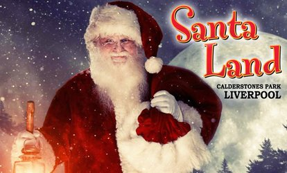 image for Santa Land UK, Including Unlimited Fun Fair Rides, 27 November - 15 December, Calderstones Park (Up to 26% Off)
