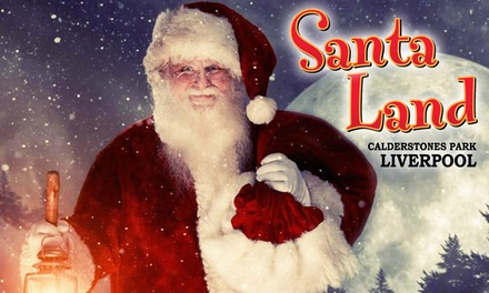 Santa Land UK, Including Unlimited Fun Fair Rides, 27 November - 15 December, Calderstones Park (Up to 26% Off)