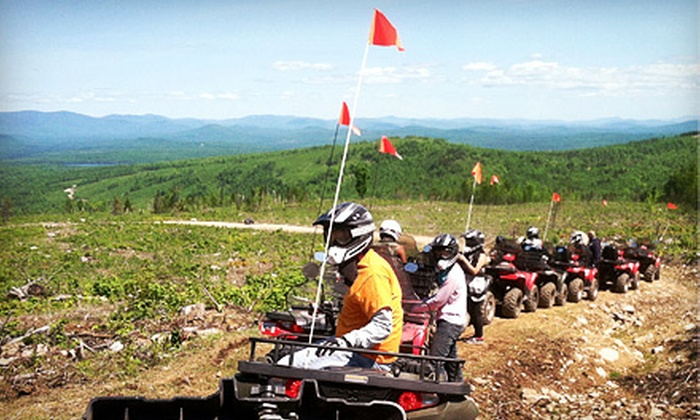 Absolute Adventure Tours - Gorham: $129 for a Guided ATV Tour for One with One Passenger from Absolute Adventure Tours (Up to $265 Value)