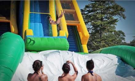 Admission to Inflatable Water Park for One at Salt River Fields on August 7 or 8 (43% Off)