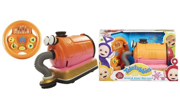 Character Options Teletubbies Drive and Steer Noo-Noo Toy (£18.99)