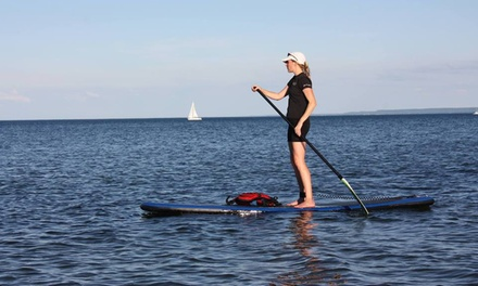 4-Hour Standup-Paddleboard Rental or 1-Hour Rental and 2-Hour Class for One or Two from WhaSUP (Up to 51% Off)