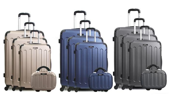 f7d01cc58 Set de maletas y neceser Bluestar | Groupon