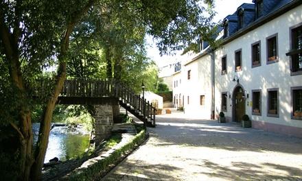 Luxemburg: 13 nachten met wellness en naar keuze met gastronomische diners in 4* Wellness Hotel Wiltz voor twee