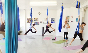 Up to 64% Off Aerial Yoga at ZenZen Yoga Arts, plus 6.0% Cash Back from Ebates.