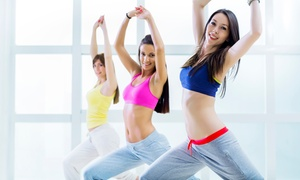 Jazzercise Hillsdale: Five or 10 Jazzercise Fitness Classes at Jazzercise Hillsdale (Up to 75% Off)