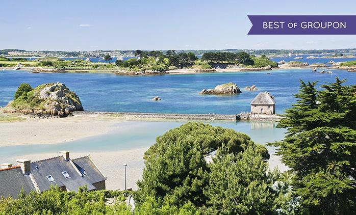 Bretagne : 1 à 2 nuits pour 2 avec petit déjeuner, verre de bienvenue et champagne en option au Galion Brit Hotel Binic