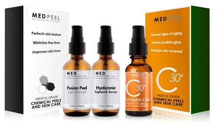 MedPeel At Home Fusion Peel and Vitamin C30x