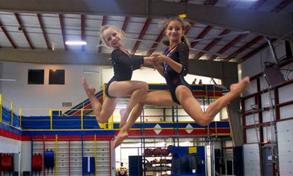 $45 for 5 Groupons, Each Good for Three-Hour Open Play at Rising Stars <strong>Gymnastics</strong> Academy ($90 Value)