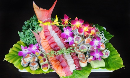 Asian-Fusion Dinner and Drinks at Asian Fin Restaurant (Up to 45% Off). Two Options Available.
