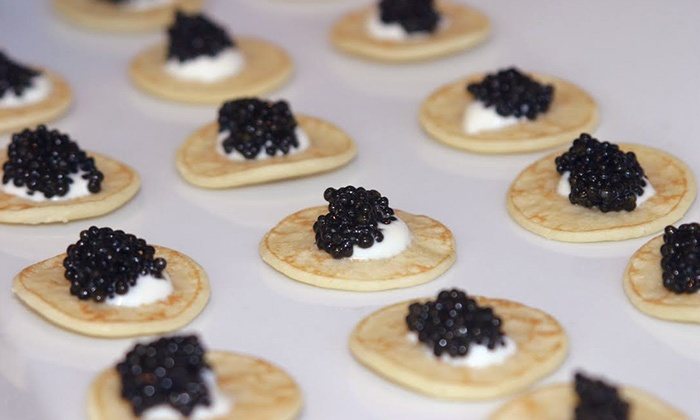 Caviarteria - Tribeca: Caviar Trio and Sparkling Wine for Two at Caviarteria (Up to 40% Off). Two Options Available.