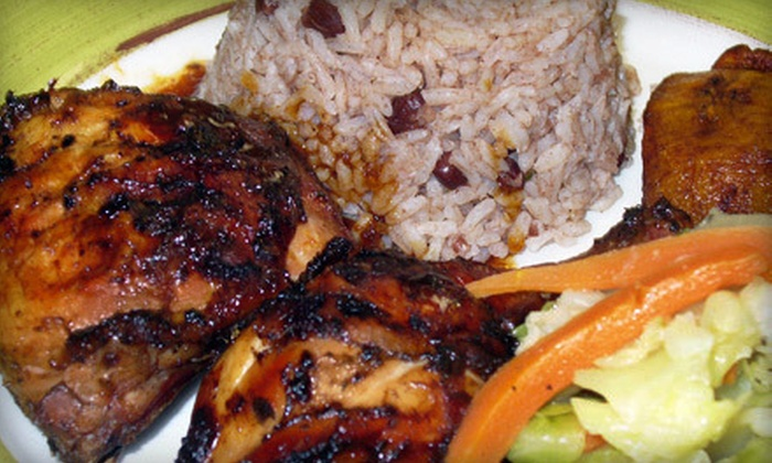 Irie Isle - Uleta: Three-Course Jamaican Meal with Soup and Dessert for Two or Four at Irie Isle in Pembroke Pines (Up to 64% Off)