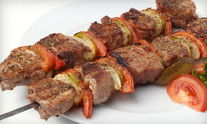 Habibi Lebanese Cuisine - Portland: $9 for $18 Worth of Lebanese Food and Drinks at Habibi Lebanese Cuisine