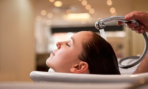 Brunettes Hair Salon: Wash, Cut, Conditioning Treatment and Finish with a Drink at Brunettes Hair Salon (60% off)
