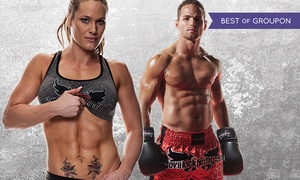 iLoveKickboxing.com: 4 or 10 Kickboxing Classes with Personal-Training Session and Boxing Gloves at iLoveKickboxing.com  ( 74% Off )