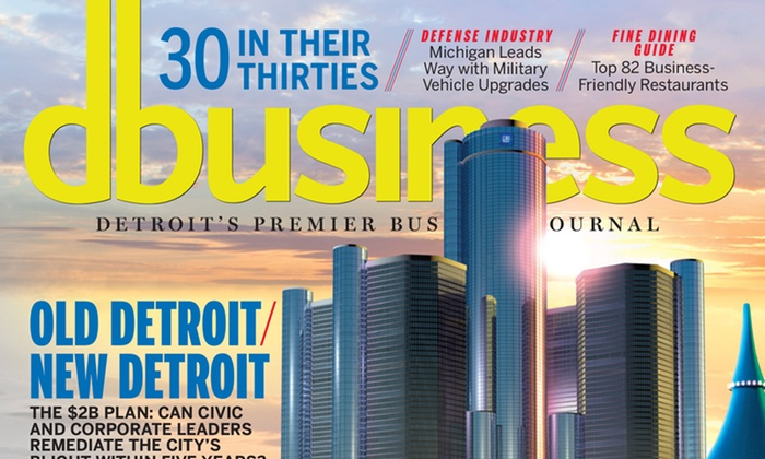 """DBusiness: $14 for a Three-Year Subscription to """"DBusiness"""" Magazine ($22.95 Value)"""
