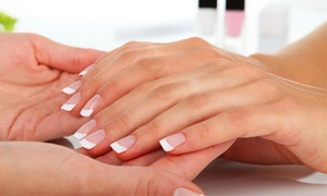 Eva at Polish Nails: Nail Dipping, Mani-Pedi, or Gel Manicure from Eva at Polish Nails (Up to 53% Off)