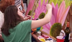 Faux Time Design: Up to 50% Off Paint and Wine Nights at Faux Time Design