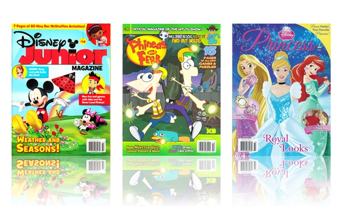 One-Year Subscription to Disney Kids' Magazines: One-Year Subscription to Disney Kids' Magazines. Multiple Options Available. Free Shipping.