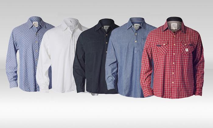 Max's Men's Woven Long-Sleeve Shirts: Max's Men's Woven Long-Sleeve Shirts. Multiple Styles Available. Free Returns.