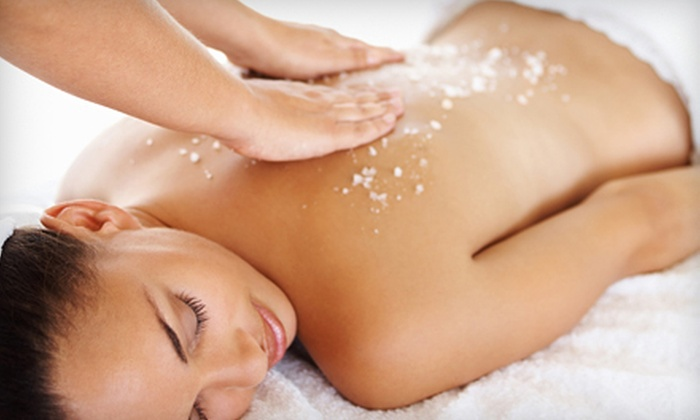 Chakras Healing Spa & Salon - Cresthaven: Spa Package with Body Scrub, Massage, and Facial or Couples Massage at Chakras Healing Spa & Salon (Up to 60% Off)