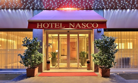 Milan: Double or Twin Room for Two with Breakfast and Late CheckOut at Hotel Nasco
