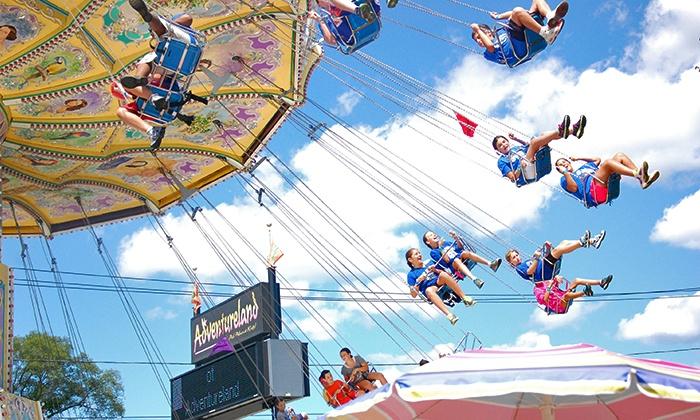 Adventureland Amusement Park  - East Farmingdale: Unlimited Rides for Two or Four at Adventureland Amusement Park (Up to 25% Off)