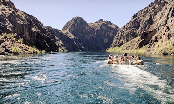 Black Canyon River Adventures - Boulder City: Full-Day Colorado River Tour for One, Two, or Four from Black Canyon River Adventures (Up to 55% Off)