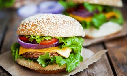 Gourmet-Burger-Menü in 3 Gängen im Restaurant Das kleine Steakhaus auf der Hohen Straße