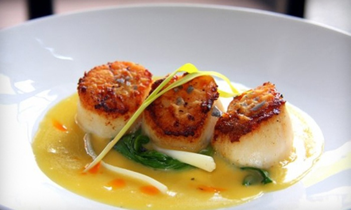 Queen City Grill - Downtown,Belltown,Pine Market: $25 for $50 Worth of Steaks, Seafood, and Contemporary Cuisine at Queen City Grill