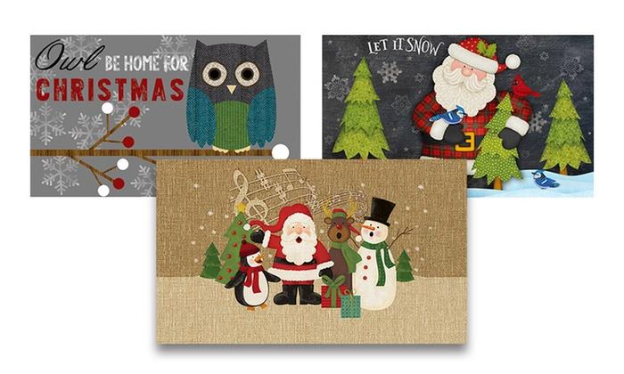Eco-Friendly Christmas Doormats | Groupon Goods