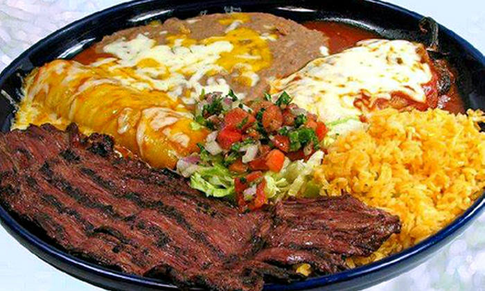 Tres Fiestas - Airway Heights: Mexican Lunch or Dinner at Tres Fiestas (Up to 44% Off). Two Options Available.