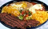 Tres Fiestas Mexican Grill - Airway Heights: Mexican Lunch or Dinner at Tres Fiestas (Up to 44% Off). Two Options Available.