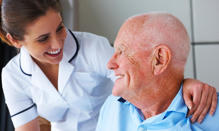 Frist Class Caregivers - Los Angeles: Eight-Hour Stay with Services for Seniors at First Class Caregivers (45% Off)