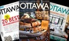 "51% Off Subscription to ""Ottawa Magazine"""