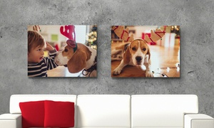 Printerpix: Toile photo personnalisée avec 6formats au choix sur Printerpix dès 1,99 € (jusqu'à 93 % de réduction)