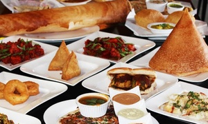 Sri Meenakshi Bhavan: Vegetarian Indian Food for Two or Four or More at Sri Meenakshi Bhavan (Up to 50% Off)