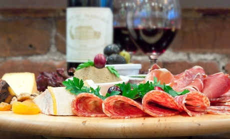 Chocolates, Cheeses, and Meats for Two or Four, or Champagne and Chocolates at The Wine Bar (Up to 48% Off)