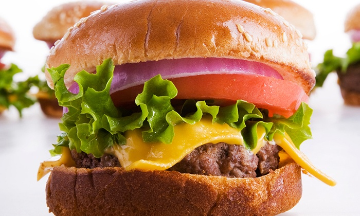 Tops Burger - Tops Drive In: American Comfort Food at Tops Burger (40% Off). Two Options Available.