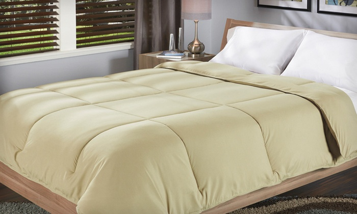 Sealy Down-Alternative Comforters: Sealy Microfiber Down-Alternative Comforters (Up to 56% Off). Multiple Options Available. Free Shipping and Returns.