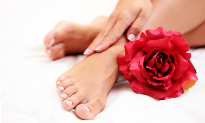 Patricia Belmontes for Fuzion Studios - Southeast: One or Two Pedicures with No-Chip Manicures from Patricia Belmontes for Fuzion Studios (Up to 54% Off)