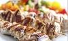 Minoas Greek Taverna - Garden Village: C$29.99 for a Prix Fixe Greek Dinner for Two People at Minoas Greek Taverna (C$61.75 Total Value)