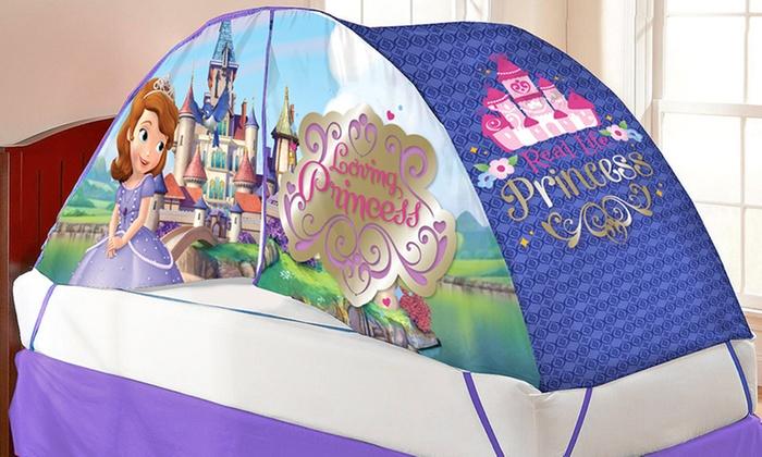 Licensed Cartoon and Superhero Bed Tent Bundle Licensed Cartoon and Superhero Bed Tent and Pushlight & Licensed Cartoon and Superhero Bed Tent Bundle   Groupon