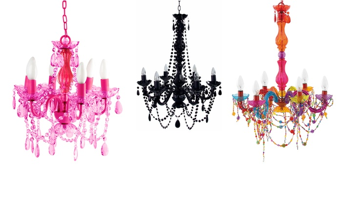 Baroque inspired ceiling light groupon goods hiccup ltd baroque inspired gypsy chandelier ceiling light in choice of style from aloadofball