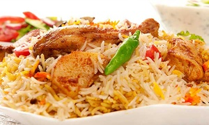 Bawarchi Biryani Point: $12 for $20 Worth of Indian Cuisine at Bawarchi Biryani Point