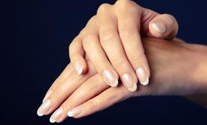Aqua Nail Studio: One or Three Shellac Manicures at Aqua Nail Studio (Up to 51% Off)
